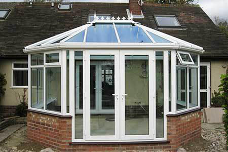 A photo of a Window Doctor conservatory installation